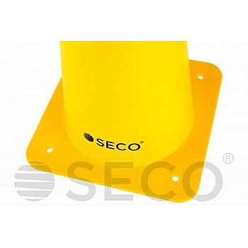 Тренировочный конус SECO® 48 см желтого цвета - фото 2