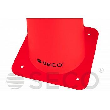 Тренировочный конус SECO® 48 см красного цвета - фото 2