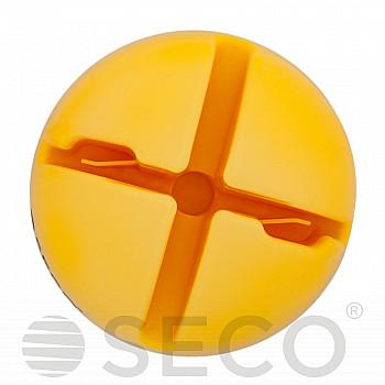 База под слаломную стойку SECO желтого цвета - фото 2