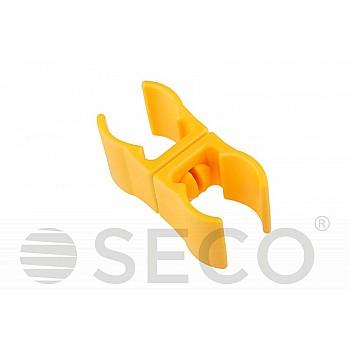 Клипса для слаломной стойки SECO® желтого цвета
