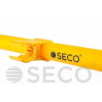 Клипса для слаломной стойки SECO® желтого цвета - фото 2