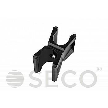 Клипса для слаломной стойки SECO® черного цвета