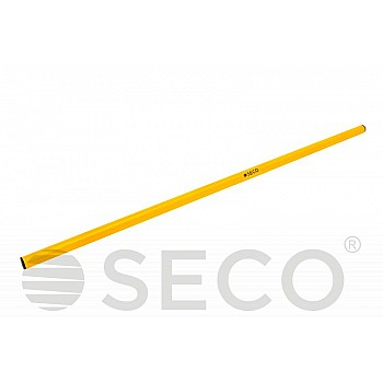 Палка для гимнастики SECO® 1 м желтого цвета