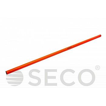Палка для гимнастики SECO® 1 м оранжевого цвета