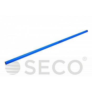 Палка для гимнастики SECO® 1 м синего цвета
