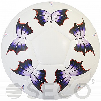 Мяч футбольный SECO® Butterfly размер 5 - фото 2