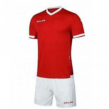 Комплект футбольной формы Kelme ALAVES красно-белый к/р K15Z212.9610