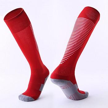 Гетры Formas AXES красные с белыми полосками