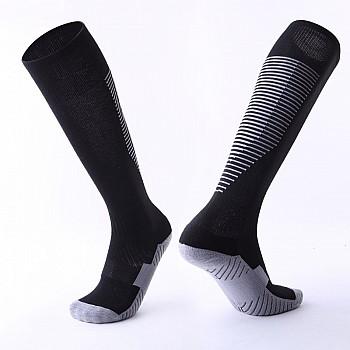Гетры Formas AXES черные с белыми полосками