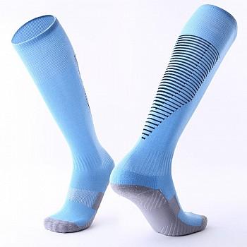 Гетры Formas AXES голубые с черными полосками
