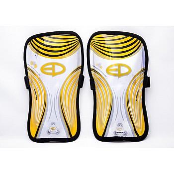 Щитки футбольные Europaw желтые