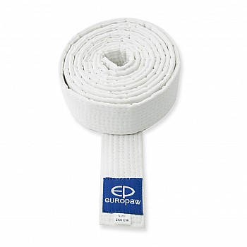 Пояс для каратэ белый Europaw [230]