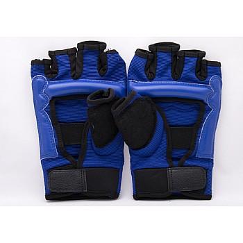 Накладки (перчатки) для тхэквондо синие [L] - фото 2