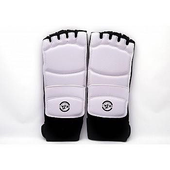 Защита стоп для тхэквондо белые [L]