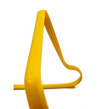 Барьер скоростной Europaw гибкий 15 см желтый [15 см] - фото 2