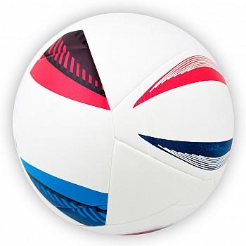 Мяч футбольный Euro белый клеенный [№5]