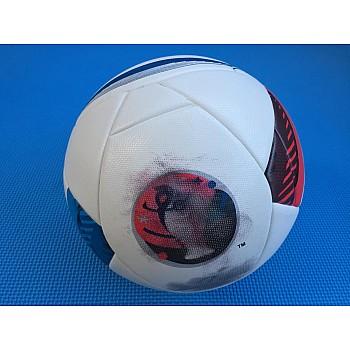 Мяч футбольный Euro белый клеенный [№5] - фото 2