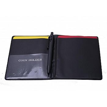 Карточки судейские блокнот с ручкой (комплект) - фото 2