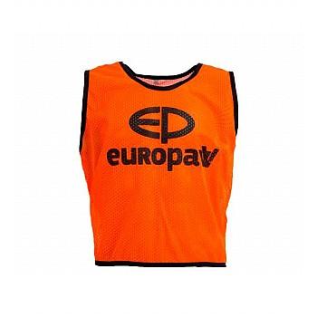 Манишка Europaw logo 3\4 оранжевая [XL]