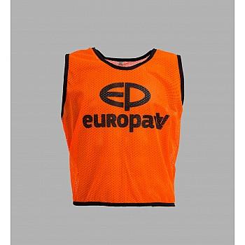 Манишка Europaw logo 3\4 оранжевая [XL] - фото 2
