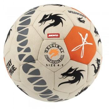 Мяч для футбольного фристайла Select Monta Freestyler  беж/помаранч, 4,5 - фото 2