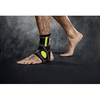 Бандаж на голеностоп SELECT Ankle support 2-parts  чорний, S