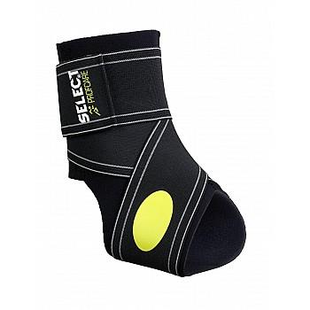 Бандаж на голеностоп SELECT Ankle support 2-parts  чорний, XL - фото 2