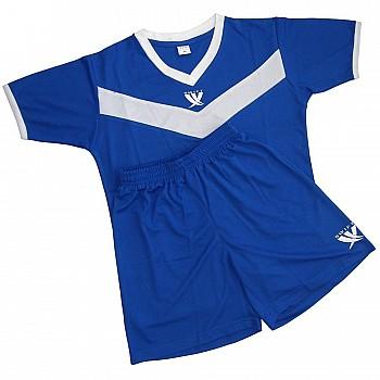 Форма футбольная детская SWIFT 26 Idea Tactel сине/белая XS - фото 2