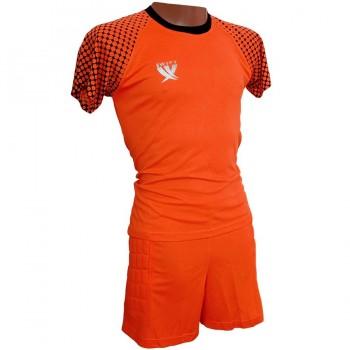 Вратарская форма (футболка - шорты) Swift, Mal неоново-оранжевая XXL