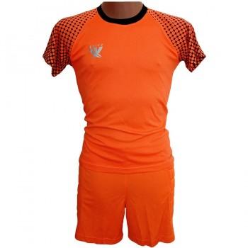 Вратарская форма (футболка - шорты) Swift, Mal неоново-оранжевая XXL - фото 2