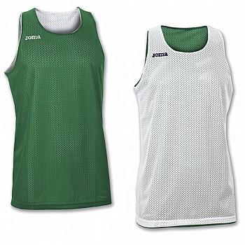 Aro баскетбольная майка без рукавов двустороння белая/зеленая 2xl-3xl