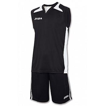 Баскетбольная форма Joma CANCHA черно-белая