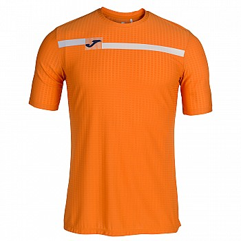 Футболка OPEN оранжевая (короткий рукав) M