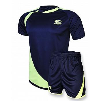 Футбольная форма Europaw 002 т.сине-салатовая