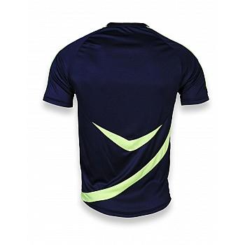Футбольная форма Europaw 002 т.сине-салатовая  - фото 2