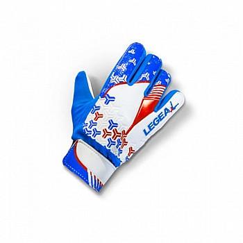 Перчатки LEGEA NAIL AZZ/BIA/ROS JUNIOR голубые - фото 2