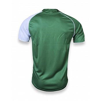 Футбольная форма Europaw 007 зелено-белая  - фото 2