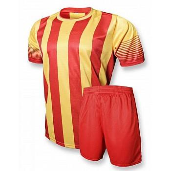 Футбольная форма Europaw club красно-желтая