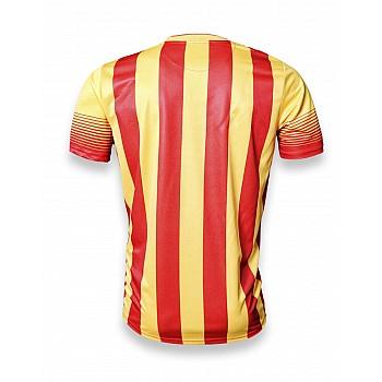 Футбольная форма Europaw club красно-желтая  - фото 2