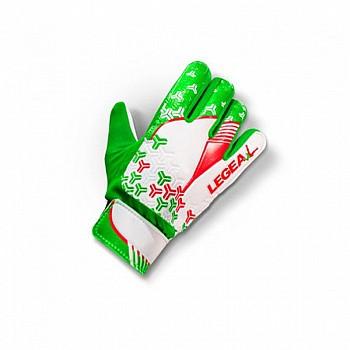 Перчатки LEGEA NAIL AZZ/BIA/ROS JUNIOR зеленые - фото 2