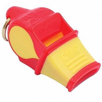 Свисток FOX40 красно-желтый