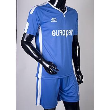 Футбольная форма Europaw 009 синяя - фото 2