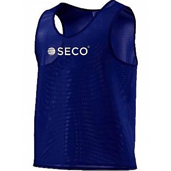 Футбольная манишка SECO® синяя
