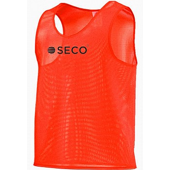 Футбольная манишка SECO® оранжевая