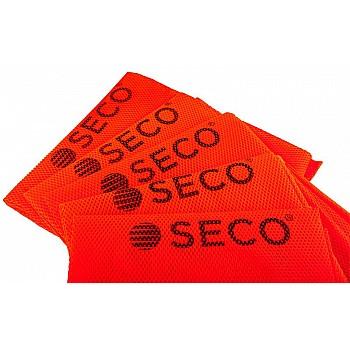 Футбольная манишка SECO® оранжевая - фото 2