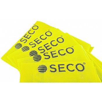 Футбольная манишка SECO® салатовая - фото 2