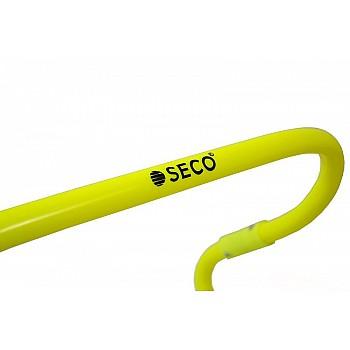Барьер для бега SECO® 15-33 см неонового цвета - фото 2
