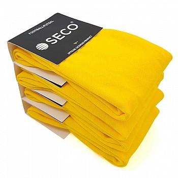 Гетры футбольные SECO® Master желтые - фото 2
