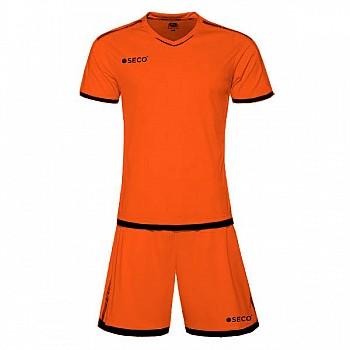 Футбольная форма SECO® Basic Set оранжево-черная