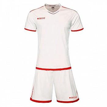 Футбольная форма SECO® Basic Set бело-красная
